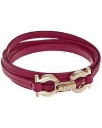 Ferragamo   Multicolor 344763 Gancini Bracelet   Lyst
