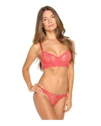Stella McCartney | Blue Isabelle Daydreaming Underwired Lace Bra | Lyst