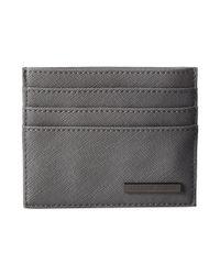 Armani Jeans - Black Eco Saffiano Porta Carte for Men - Lyst