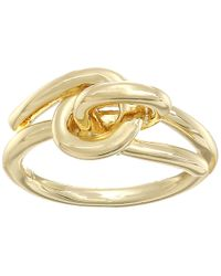 Elizabeth and James - Metallic Amara Ring - Lyst