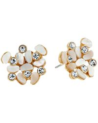 Kate Spade - Multicolor Disco Pansy Cluster Studs Earrings - Lyst