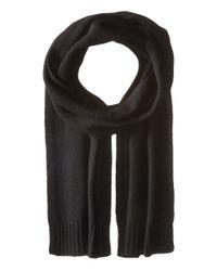 VINCE | Black Cashmere Scarf for Men | Lyst