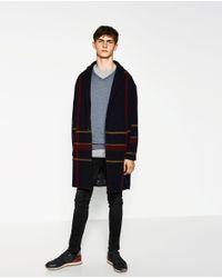 Zara | Blue Merino Wool Sweater for Men | Lyst