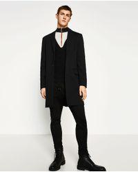 Zara | Black High Neck Sweater for Men | Lyst