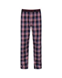Ben Sherman - Red Blake Check Lounge Pants for Men - Lyst