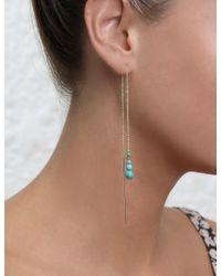 Zimmermann - Multicolor Turquoise Thread Fine Earrring - Lyst