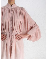 Zimmermann - Pink Chroma Ombre Dress - Lyst
