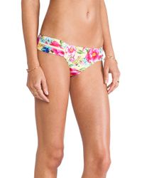 Seafolly Paradiso Brazilian Tie Side Bikini Bottom - Lyst