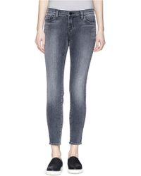 J Brand 'Skinny Crop' Jeans - Lyst