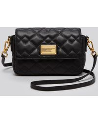 Marc By Marc Jacobs Crossbody - Julie Leather Quilted - Lyst