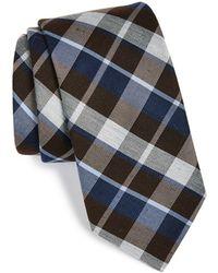 Michael Kors 'Dash' Woven Plaid Tie - Lyst