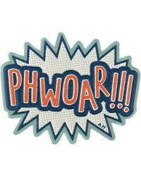 Anya Hindmarch Phwoar! Sticker - Lyst