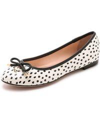 Kate Spade Willa Ballet Flats - Shell Dot - Lyst