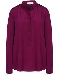 Stella McCartney Purple Eva Shirt - Lyst