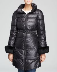 Elie Tahari Black Coat  Ireland - Lyst