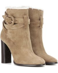 Burberry Brit - Stackholme Suede Ankle Boots - Lyst