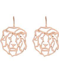 Rita & Zia - Mini Tiger Earrings - Lyst