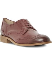 Dune Lace Up Brogues - Lyst