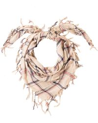 Look By M | Vintage Plaid Scarf | Lyst