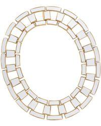 Rachel Zoe Eloise Leather Collar Necklace - Lyst