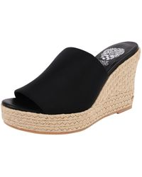 Vince Camuto Carisma Wedge black - Lyst