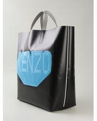 Kenzo Logo Print Tote - Lyst