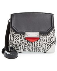 Alexander Wang 'Marion Prisma' Embossed Leather Crossbody Bag - Lyst