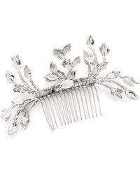 Erickson Beamon - I Do Hair Comb - Crystal - Lyst