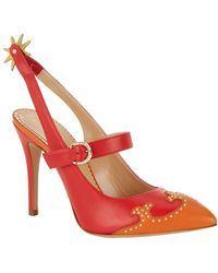 Charlotte Olympia Spur Of The Moment Pumps - Lyst