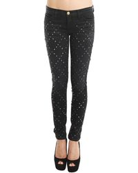 Current/Elliott Skinny Jeans With Sparrow Stud - Lyst
