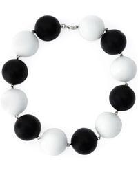 Holly Fulton - Enamel Ball Necklace - Lyst