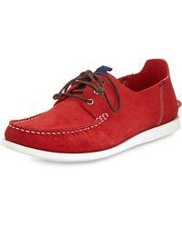 Paul Smith Dagama Boat Shoe - Lyst