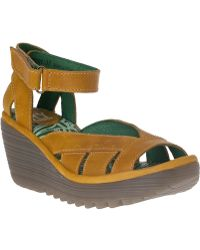 Fly London | Yossa Leather Sandals | Lyst