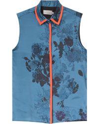 Preen Wyman Floral Shirt - Lyst