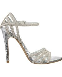 Steve Madden Silver Cagged - Lyst