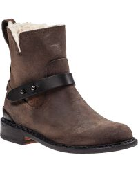 Rag & Bone Ashford Ankle Boot Stone Leather - Lyst
