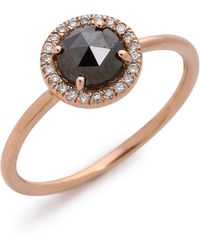Blanca Monros Gomez - Rose Cut Diamond Solitaire Ring - Lyst