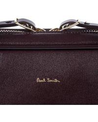 Paul Smith - Men's Damson 'city Embossed' Leather Slim Business Folio - Lyst