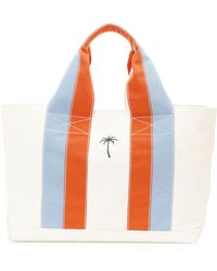 Tomas Maier - Palm Tree Canvas Beach Tote Bag - Lyst