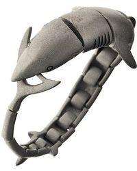 Ametallo - Megalos Stainless Steel Bracelet - Lyst