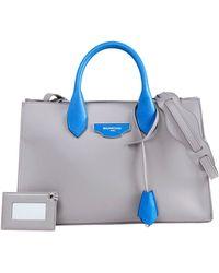 Balenciaga Aj Xs Bicolor Tote Bag blue - Lyst