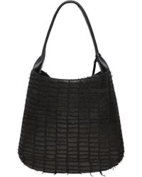 Desmo - Carrie Croc Effect Nappa Leather Bag - Lyst