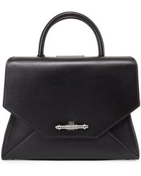 Givenchy Obsedia Top Handle Small Leather Satchel Bag - Lyst