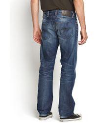 Diesel Mens Waykee 833n Regular Straight Jeans - Lyst