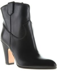 Gianvito Rossi Pearl Booties - Lyst