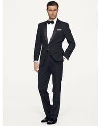 Ralph Lauren Black Label Silk Peaked Lapel Anthony Tuxedo black - Lyst