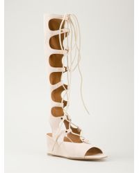 Chloé Gladiator Sandals - Lyst