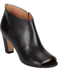 Maison Margiela Peep-Toe Ankle Boots - Lyst