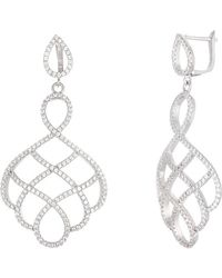 Annabella Lilly - Sterling Silver Earring - Lyst