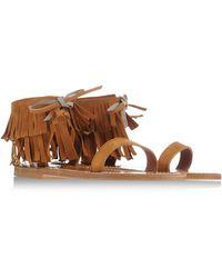 K Jacques St Tropez Sandals - Lyst